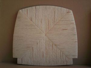 white mais seat, Sitzhocker, für einen rustikalen Speisesaal