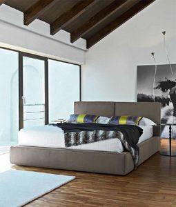 Dress, Moderne Bett mit Polyurethan, verschiedene Versionen gepolstert