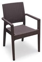 Lipari-P, Outdoor-Stuhl, stapelbar, mit Glasfaser verstärkt