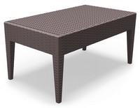 Minorca-TC, Beständig kleiner Tisch, verschiedene Farben, für Outdoor-Restaurant