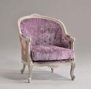 FRIDA Sessel 8310A, Sessel im klassischen Stil, in Buche, für reiche Hotel