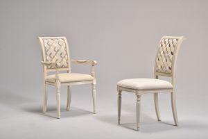 GABRY Stuhl 8257S, Klassischer Stuhl, gepolstert, Buche, für historische Kaffee