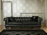 NICOLAS Sofa 8555L, Klassisches Sofa aus Polyurethan, erhältlich in verschiedenen Größen