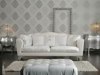PLAZA Sofa 8552L, Luxus-Sofa, Pappel Basis, für Wartezimmer