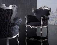 ROSA Sessel 8558A, Bequemen Stuhl, in der Buche, für Luxusrestaurant