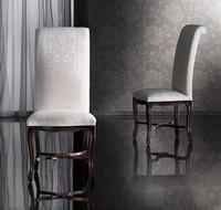 SISSI Stuhl 8491S, Buchenstuhl Handarbeit, hohe Rückenlehne, klassisch