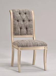 WENDY Stuhl 8286S, Esszimmerstuhl aus Buchenholz, verschiedene Stoffe