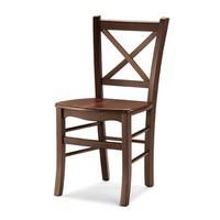Atena, Stabilen Stuhl ganz aus Holz, für Taverne