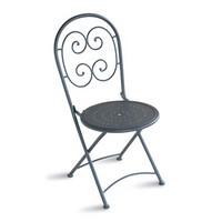 CHF08, Klappstuhl aus verzinktem Stahl, für den Außenbereich aus