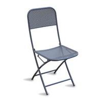 CHF71, Klappstuhl aus lackiertem Stahl, für den Außeneinsatz