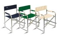 CHAP01, Aluminium Direktor Stuhl für den Außenbereich