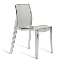 Ice, Monoblock-Stuhl aus transparentem Polycarbonat