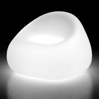 LT SOFA / 1P, Außen-Sessel aus Polycarbonat, Innenlicht