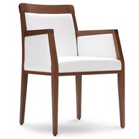 PL 49 ER, Stuhl mit Holzrahmen, für Wohnzimmer