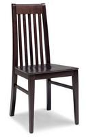SE 490 / F, Stuhl aus massiver Buche, Rücken Vertikal-Lamellen