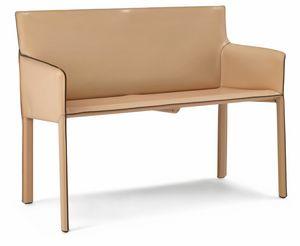 Pasqualina kleines Sofa 10.0094, Kleines Sofa für den Wartebereich