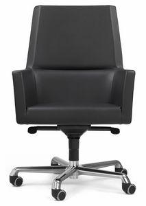 Web Sessel president 10.0113, Executive Leder Bürostuhl