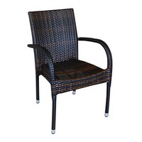 Belinda P, Sessel aus Polyethylen gewebt, verschiedene Farben