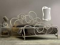 Jazz Doppelbett, Eisenbett, handgemacht, Soft-Design