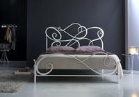 Aura Doppelbett, Schmiedeeisen klassischen Bett für Schlafzimmer