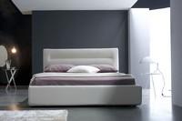 Grace Doppelbett, Mit Box Bett, Lederbezug