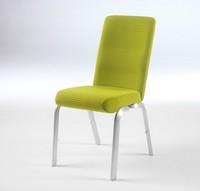 Orvia 12/3, Stuhl mit anatomischen Sitz, stapelbar, für Tagungsräume