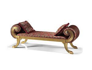 1740/L, Bänke mit gepolstertem Sitz