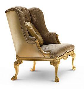 1754/A, Sessel mit luxuriösen Dekoren
