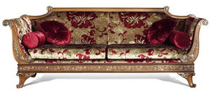 4034, Klassisches Sofa mit geschnitzten Details