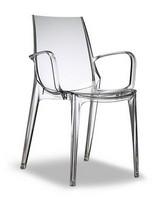 Vanity, Design Sessel aus Polycarbonat, verschiedene Farben