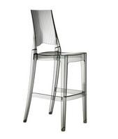 Glenda Barhocker, Polycarbonat Stuhl, stapelbar, Sitz bei 74 cm