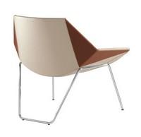 Kayak, Sessel mit Metallgestell, in verschiedenen Abmessungen