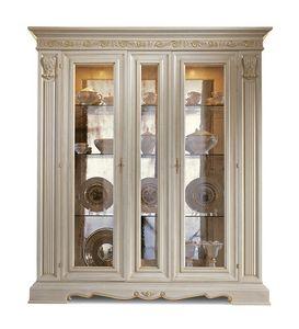 4001, Luxus-Vitrine aus Glas für Wohnzimmer