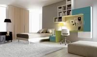 Comp. 108, Möbel Schlafzimmer mit Bett und Einbauwand