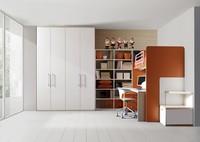 Comp. 308, Kinderzimmer, Holzlaminat, Seitenleiter
