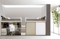 Comp. 309, Schlafzimmermöbel, Bett, Schreibtisch, Schränke, Regale
