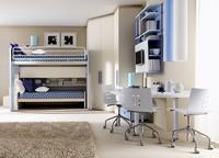 Comp. 906, Lösung für Kinderzimmer, Winkelkonfiguration
