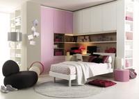 Comp. 203, Schlafzimmer, Komfort und Raumoptimierung