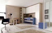 Comp. 205, Personalisierte Kinderschlafzimmer, Rationalisierung der Bereiche
