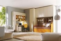 Comp. 206, Kinder- und Jugendzimmer, Bett, Schrank, Schreibtisch