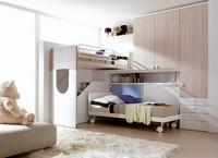 Comp. 403, Die Möbel für die childern Schlafzimmer in vielen Farben veredelt