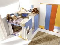 Comp. 908, Bunte umweltfreundliche Funktions Schlafzimmer
