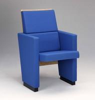 Santa Chiara F, Polster Polyurethan Sessel für Konferenzräume