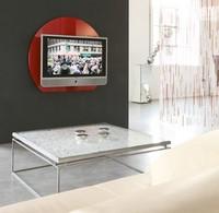 xl95 wall, Tv unterstützt in farbigen Hartglas