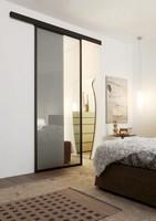 p100 bogota, Glas-Schiebe-Tür mit Aluminiumrahmen