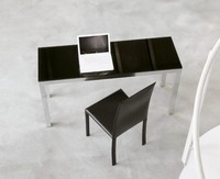dl50 parigi, Bürodesign Tabelle, in Aluminium und Glas