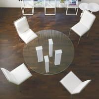 dl101 toronto, Tisch mit Glasplatte für Esszimmer