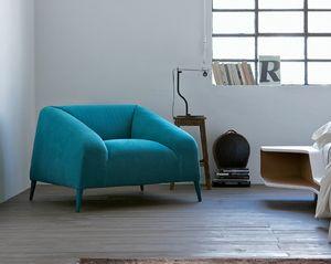 Sebastian Sessel, Bequeme Sessel, Stoffbezug, modernen Farben