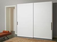 Palea, Kleiderschrank Flügeltüren, matt oder poliert, für Schlafzimmer moderne