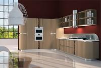 CUC01 Mistral, Küche funktional und elegant, mit eingelegten Holz und Metall